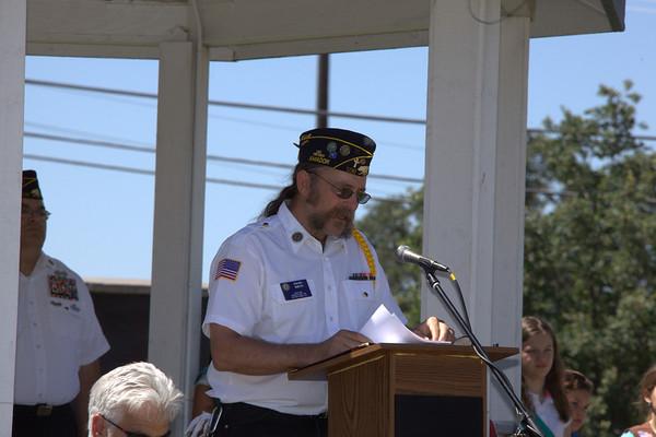 2014 Memorial Day Ceremony Veterans Post 108 Martel California